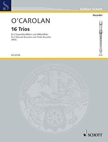 16 Trios - T. O'Carolan SCHOTT
