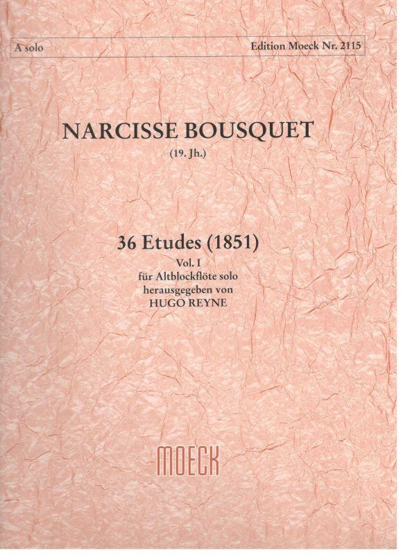 36 Etudes vol. I - N. Bousquet Moeck
