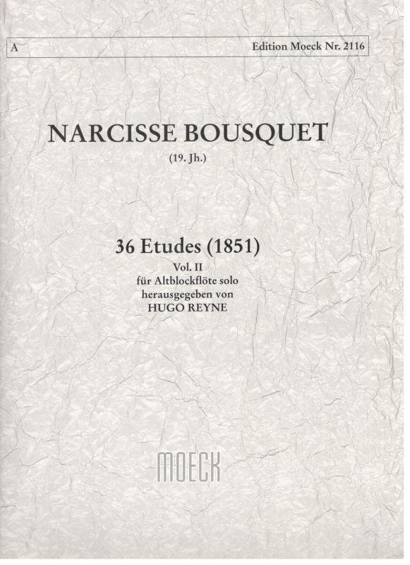 36 Etudes vol. II - N. Bousquet Moeck