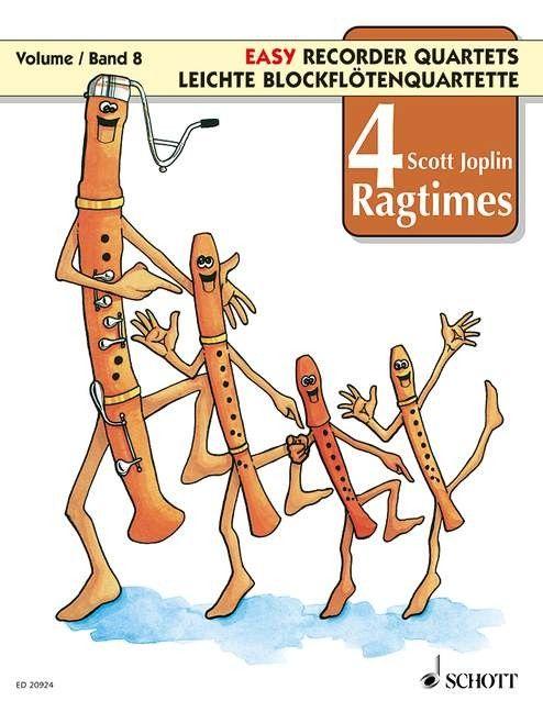 4 Ragtimes - S. Joplin SCHOTT