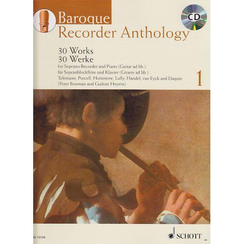Baroque Recorder Anthology 1 - G. Heyens, P. Bowman SCHOTT