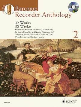 Baroque Recorder Anthology 2 - G. Heyens, P. Bowman SCHOTT