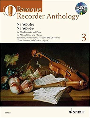 Baroque Recorder Anthology 3 - G. Heyens, P. Bowman SCHOTT