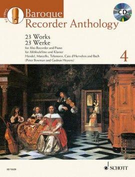 Baroque Recorder Anthology 4 - G. Heyens, P. Bowman SCHOTT