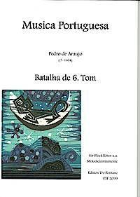 Batalha de 6.Tom - P. de Araujo Edition Tre Fontane