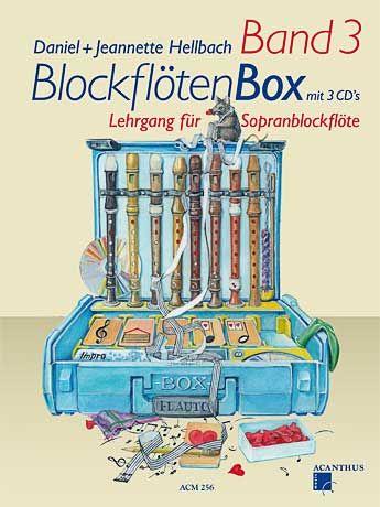 BlockflötenBox 3 s 3 CD - D. + J. Hellbach Acanthus-music