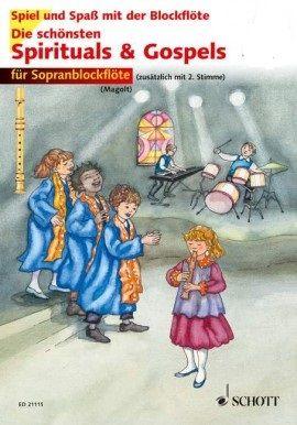 Die schönsten Spirituals & Gospels - M.+H. Magolt, K. G. Koop SCHOTT