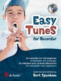 Easy Tunes for Recorder - B. Spanhove de haske