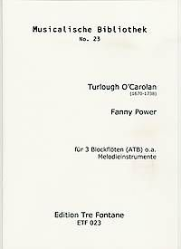 Fanny Power - T. O'Carolan Edition Tre Fontane