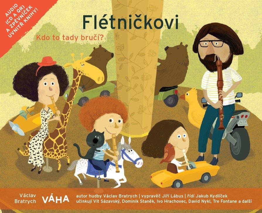Flétničkovi - Kdo to tady bručí - kniha+CD VÁHA