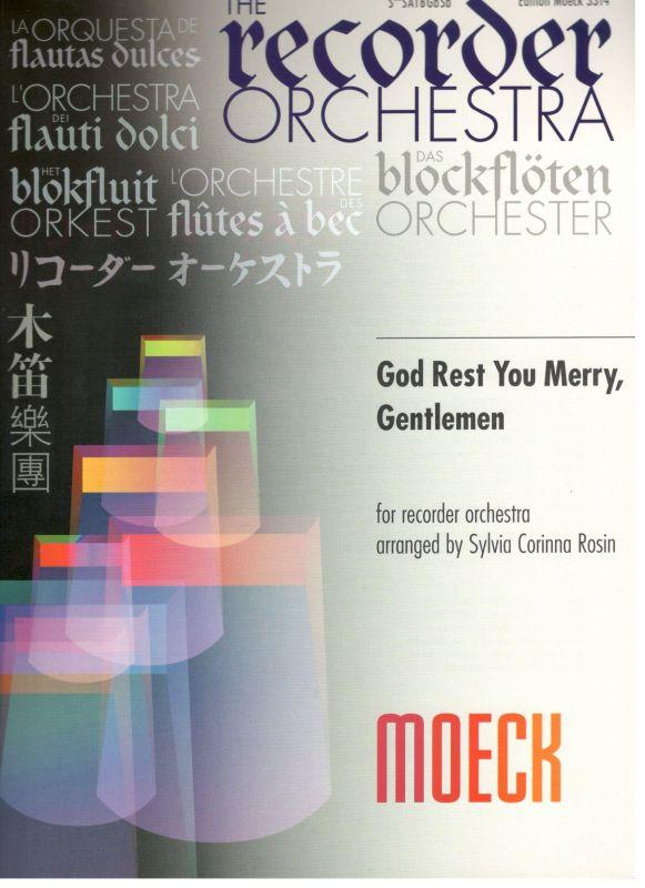 God Rest You Merry, Gentlemen - S. C. Rosin Moeck