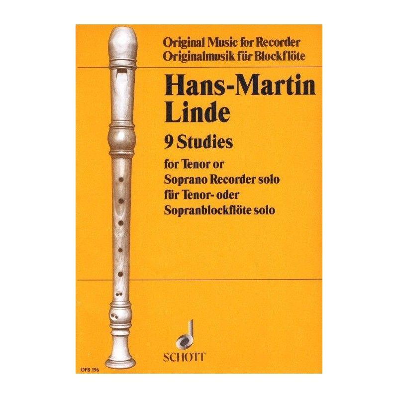 Hans-Martin Linde - 9 Studies SCHOTT