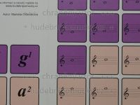 Pexeso - Houslový klíč