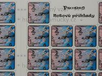 Pexeso - Notové příklady