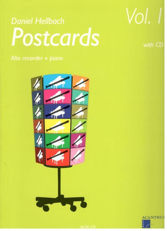 Postcards 1 - alt - D. Hellbach Acanthus-music