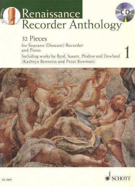 Renaissance Recorder Anthology 1 - P. Bowman, K. Bennets SCHOTT