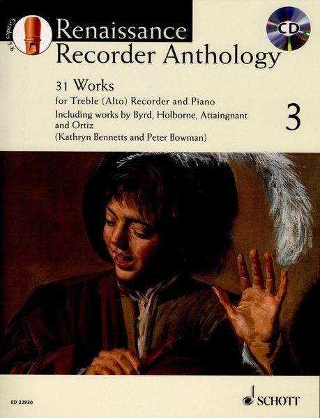Renaissance Recorder Anthology 3 - P. Bowman, K. Bennetts SCHOTT