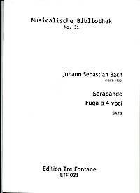 Sarabande Fuga a 4 voci - J. S. Bach Edition Tre Fontane