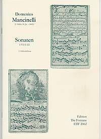 Sonaten I-III - D. Mancinelli Edition Tre Fontane