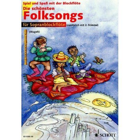 The most beautiful folk songs - M. + H. Magolt bez CD SCHOTT