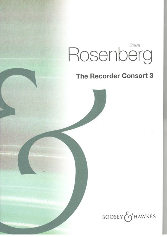 The Recorder Consort 3 - S. Rosenberg Boosey/Hawkes