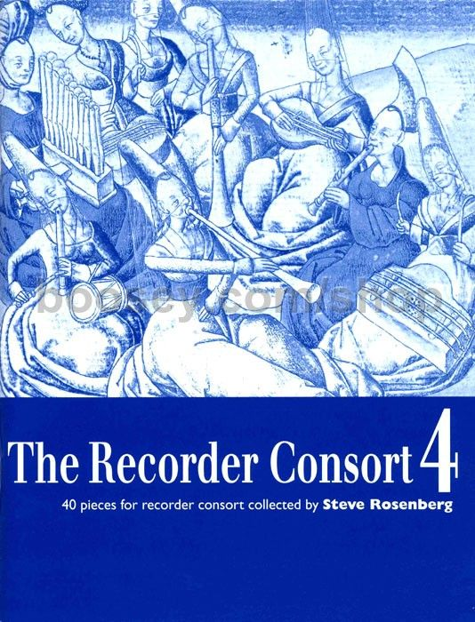 The Recorder Consort 4 - S. Rosenberg Boosey/Hawkes