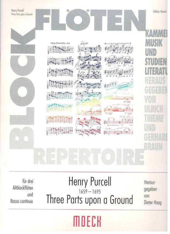 Three Parts upon a Ground - H. Purcell Moeck