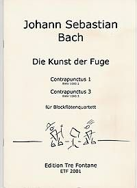 Umění fugy - Contrapunctus 1+3 - J. S. Bach Edition Tre Fontane