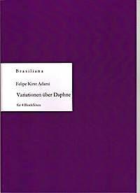 Variationen über Daphne von J. van Eyck - F. K. Adami Edition Tre Fontane