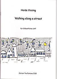 Walking along a street - H. Vissing Edition Tre Fontane