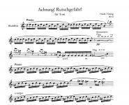 Achtung! Rutschgefahr! - H. Vissing Edition Tre Fontane