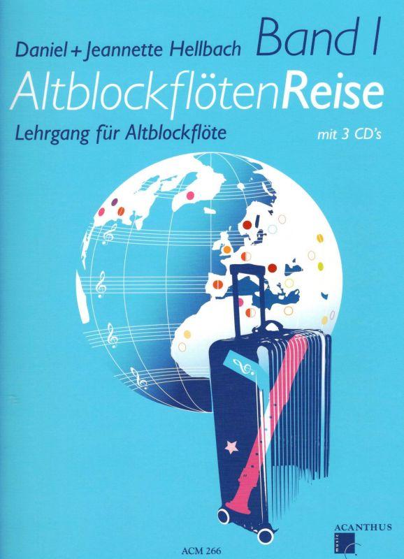 AltblockflötenReise Band 1 - D.+J. Hellbach Acanthus-music