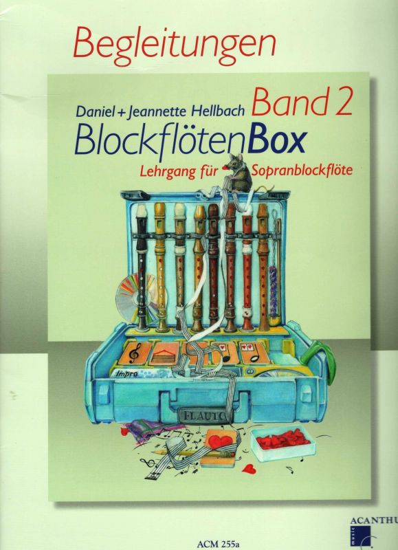 BlockflötenBox 2 - D.+ J. Hellbach - doprovody Acanthus-music