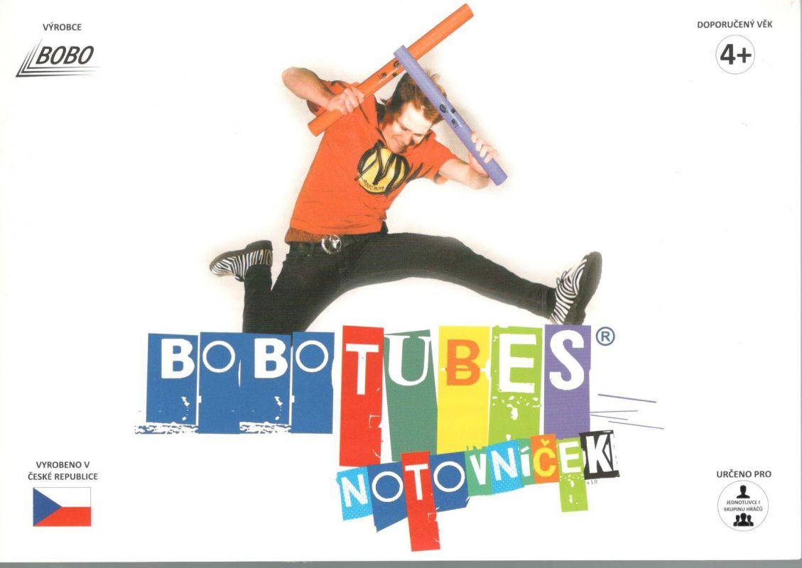 Bobotubes - notovníček