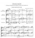 Christmas Quartet - W. W. van Nieuwkerk Edition Tre Fontane