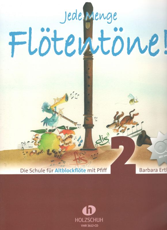 Jede Menge Flötentöne 2 - alt - B. Ertl Holzschuh