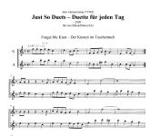 Just So Duets - I. Zimmermann Moeck