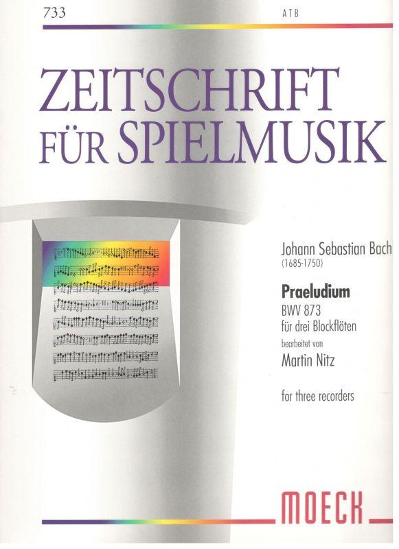 Praeludium - J. S. Bach Moeck
