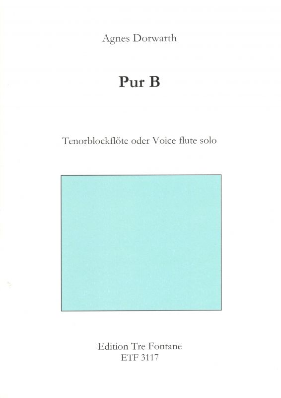 Pur B - A. Dorwarth Edition Tre Fontane