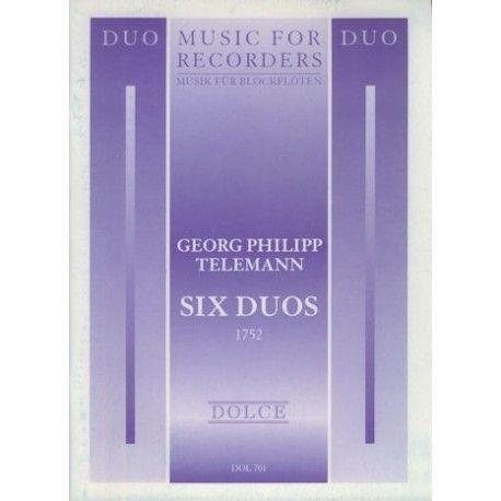 Six Duos - G. P. Telemann Dolce