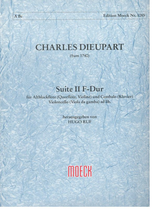 Suite II - F. Dur - Ch. Dieupart Moeck