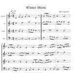 Winter Music - B. Hagvall Edition Tre Fontane