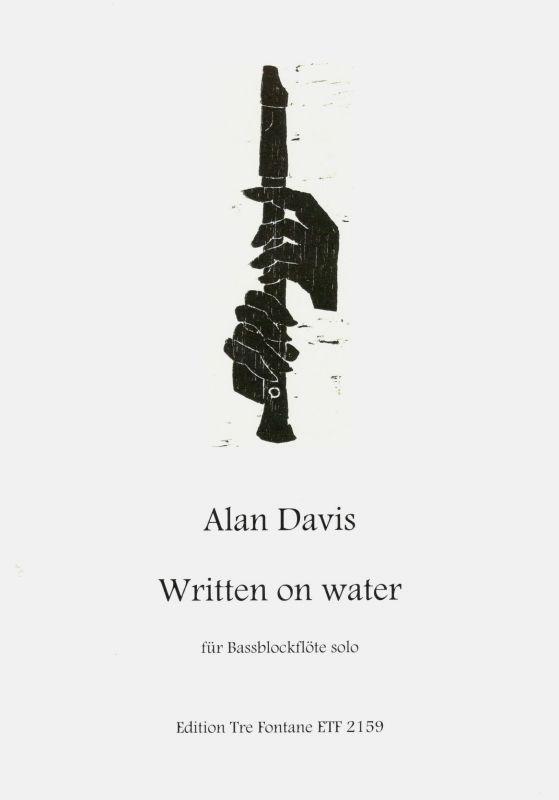 Written on Water - A. Davis Edition Tre Fontane