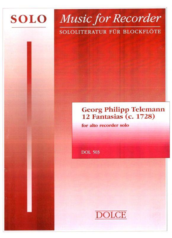 12 Fantasias - G. P. Telemann Dolce