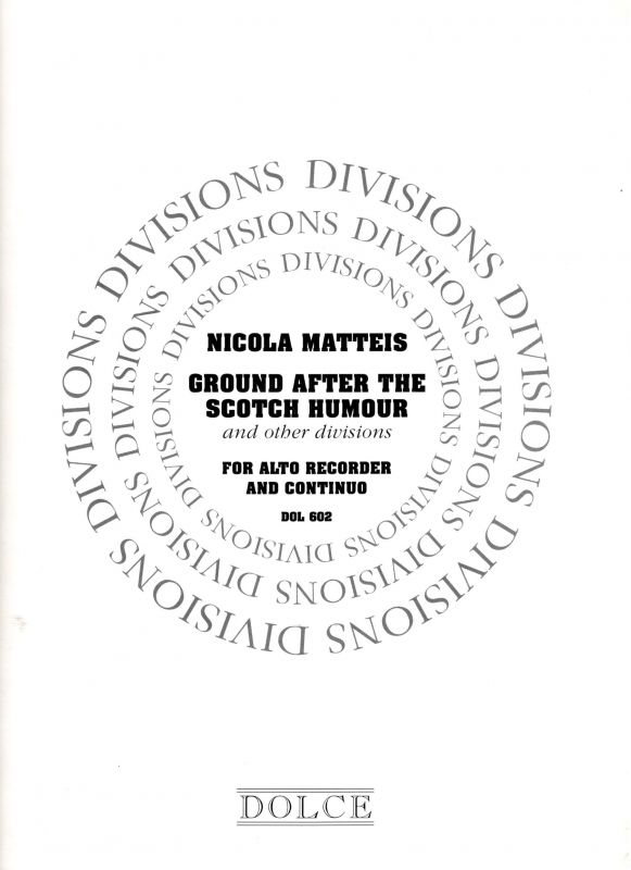Ground after the Scotch Humour and other Divisions - N. Matteis Dolce