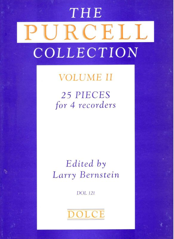 The Purcell Collection vol. II - ed. L. Bernstein Dolce